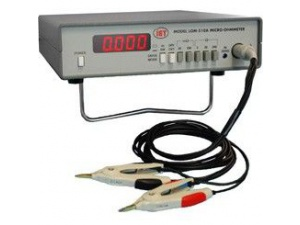 IET Labs LOM-510A - Micro-Ohmmetre